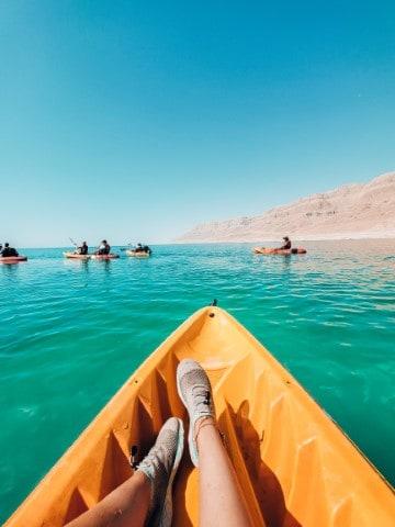 טיול קייאקים בים המלח