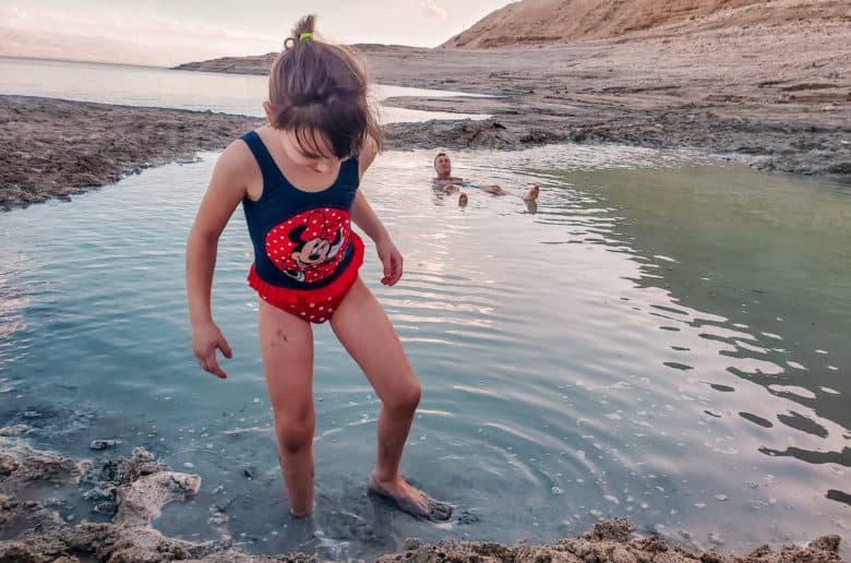 מינרלים וגופרית במעיינות החמים של ים המלח