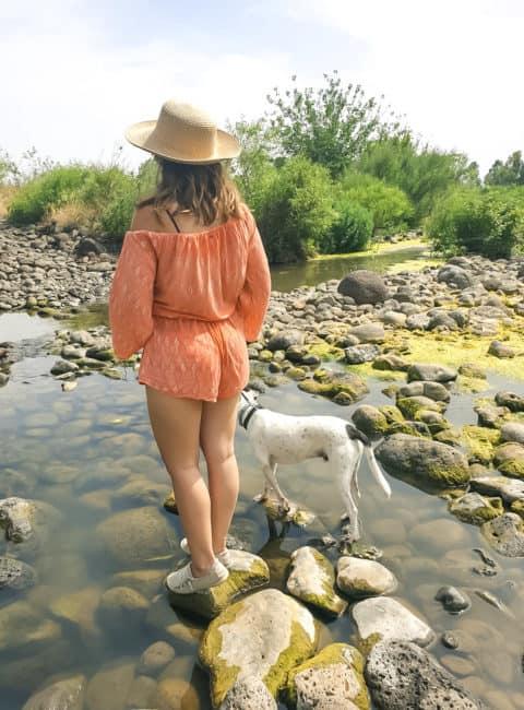מתהלכות במסלול הזאכי - מסלול מים
