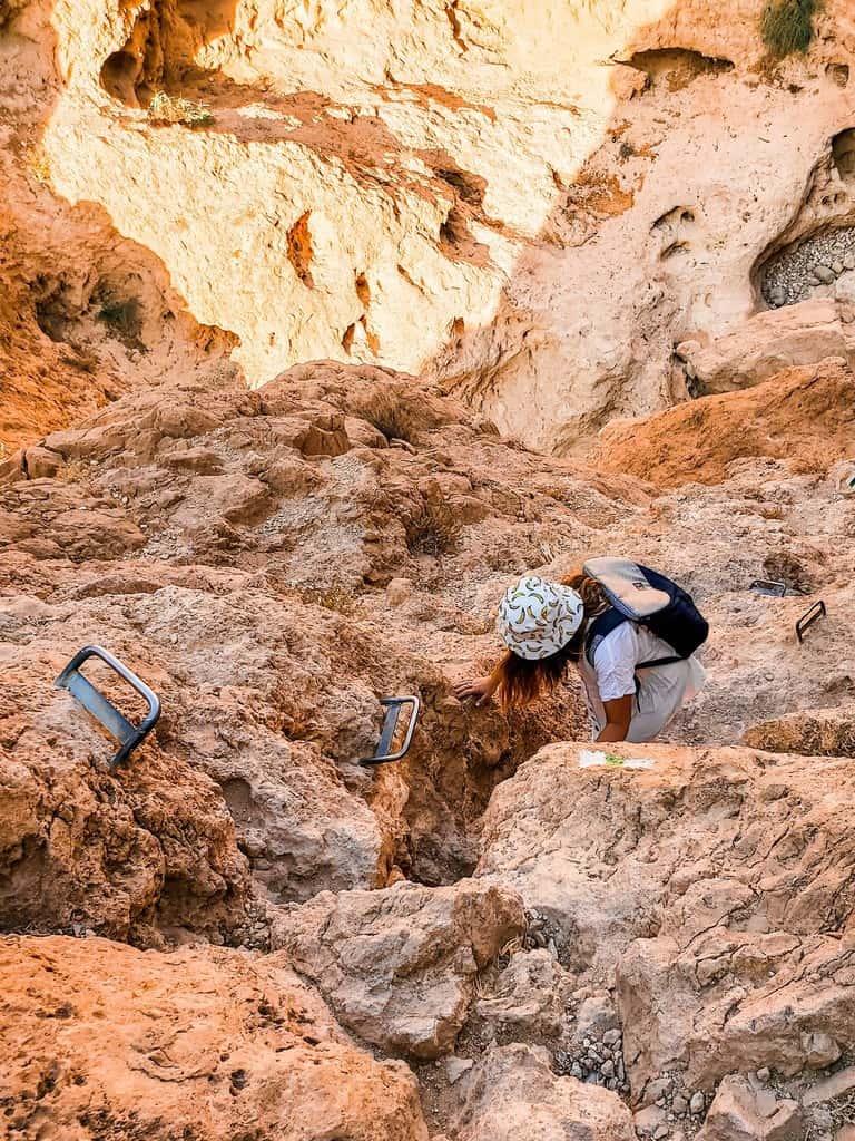 מסלול טיול אתגרי למדבר - בירכת צפירה