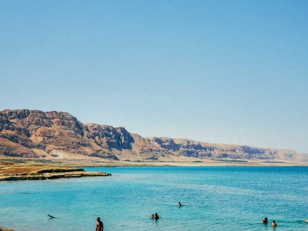 הנוף המרהיב של ים המלח