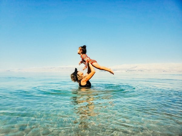 חופשה משפחתית בים המלח