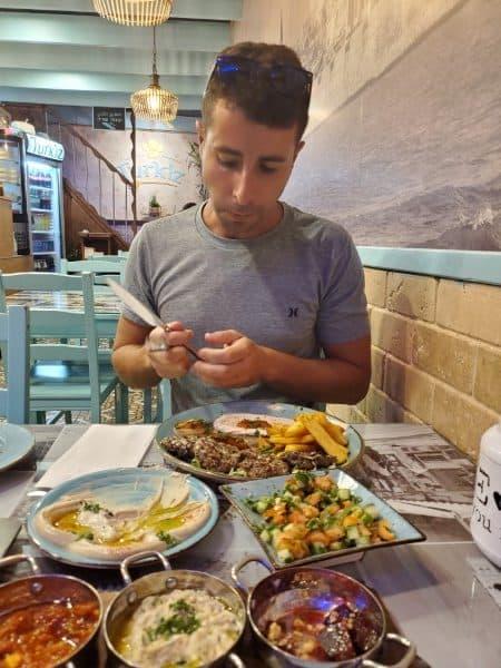 ארוחת ערב בעכו העתיקה