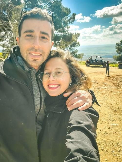 טיול טרקטורונים עם בן הזוג שלי
