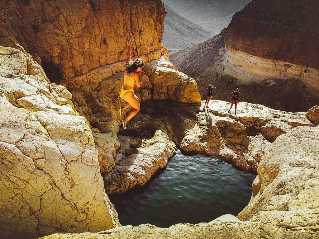 בירכת צפירה- מסלול טיול במדבר